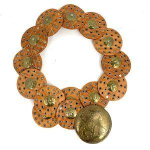 Vintage Medallion Belt